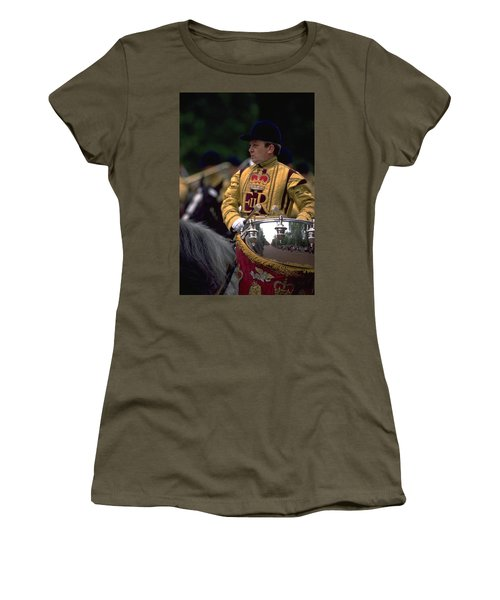 Drum Horse At Trooping The Colour Women's T-Shirt