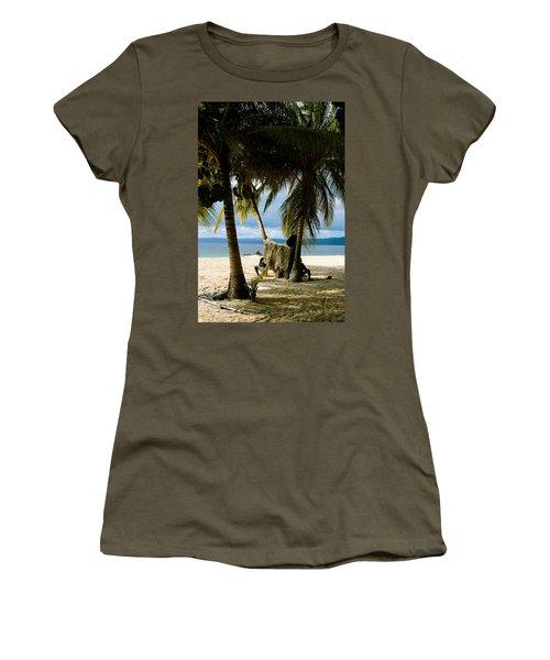 Drying The Nets Women's T-Shirt