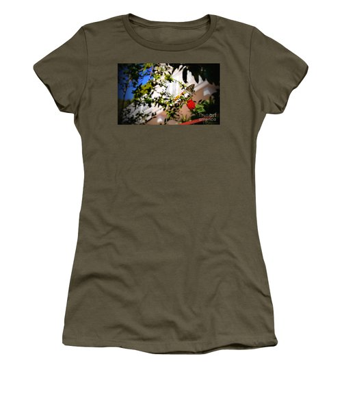 Dubrovniks Butterfly Women's T-Shirt (Athletic Fit)