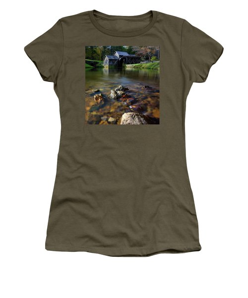 Ducks View Of Mabry Mill Women's T-Shirt (Athletic Fit)