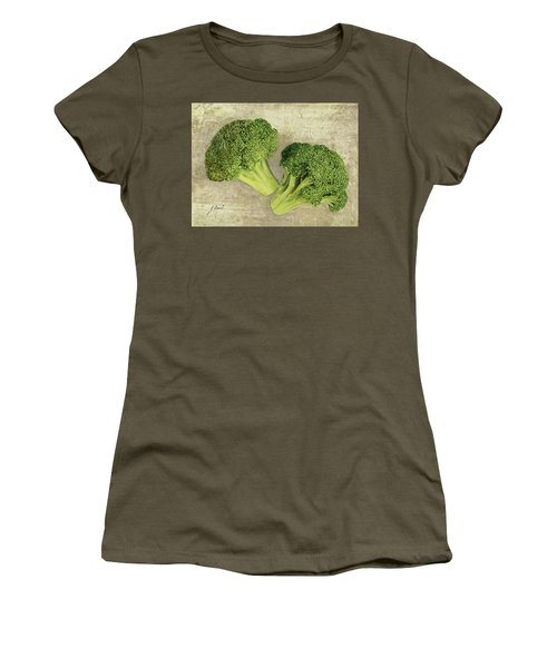 Due Broccoletti Women's T-Shirt (Junior Cut) by Guido Borelli