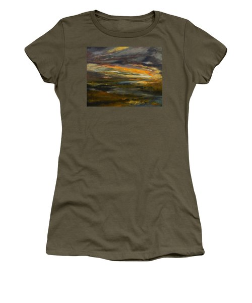 Dusk At The River Women's T-Shirt