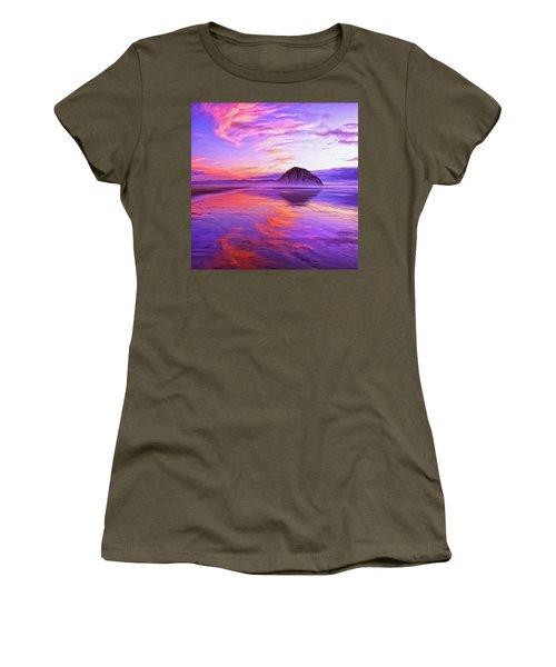 Dusk On The Morro Strand Women's T-Shirt