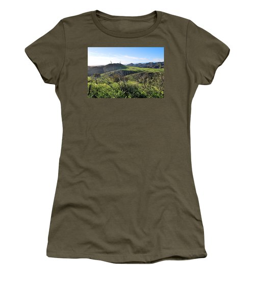 Women's T-Shirt (Athletic Fit) featuring the photograph Dynamic California Landscape by Matt Harang