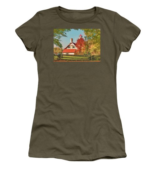 Eagle Bluff Lighthouse_1 Women's T-Shirt (Athletic Fit)