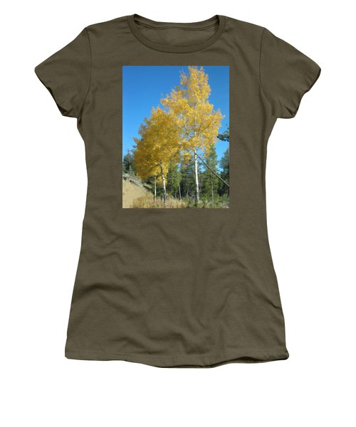 Early Autumn Aspens Women's T-Shirt