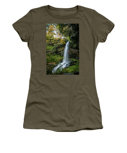 Early Autumn At Dry Falls Women's T-Shirt