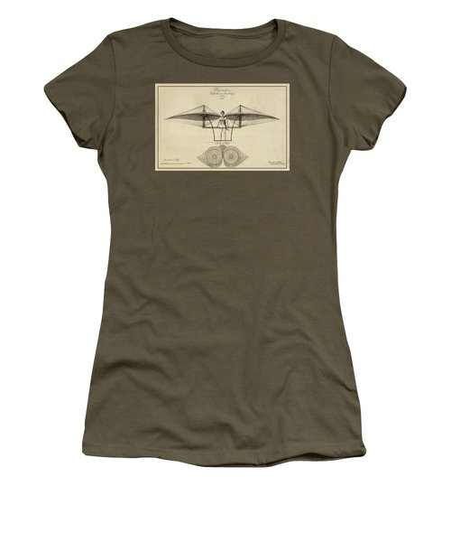Early Flight Women's T-Shirt (Athletic Fit)