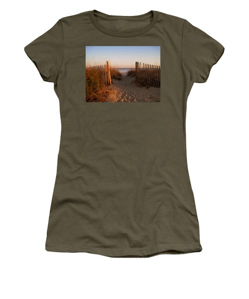 Early Morning At Myrtle Beach Sc Women's T-Shirt