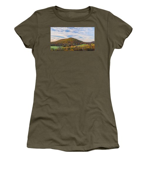 Early Morning Trestle Skies Women's T-Shirt (Athletic Fit)