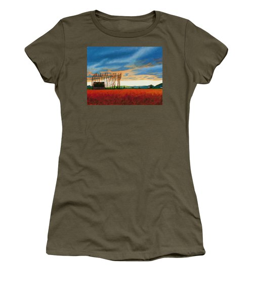 Early Spring, Skagit Valley Women's T-Shirt (Athletic Fit)