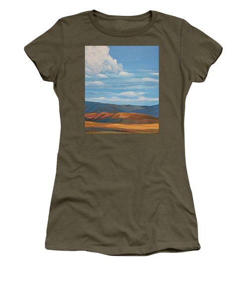 Early Summer Blue Hills Women's T-Shirt (Athletic Fit)