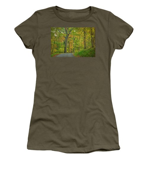 Women's T-Shirt featuring the photograph Early Sun by David Waldrop