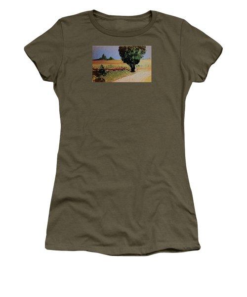 Early Sunday Morning Women's T-Shirt (Junior Cut) by Bill OConnor