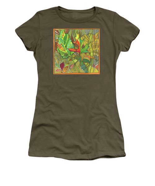Earth's Expression Women's T-Shirt (Athletic Fit)
