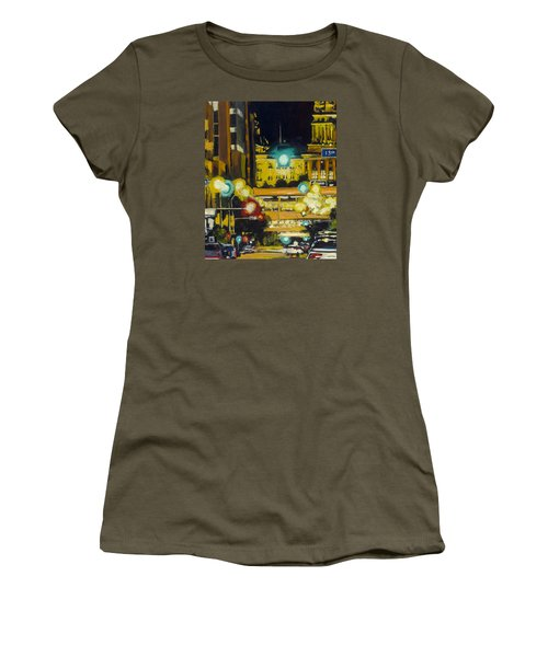East 13th And Locust St Des Moines Women's T-Shirt