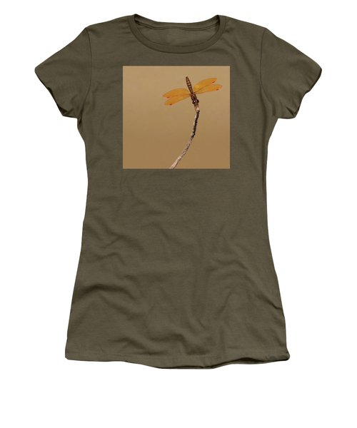 Eastern Amberwing Women's T-Shirt (Athletic Fit)