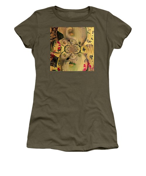Eastern Motif Women's T-Shirt (Athletic Fit)