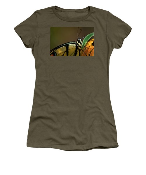 Eastern Tiger Swallowtail Butterfly Women's T-Shirt (Athletic Fit)