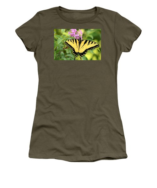 Eastern Tiger Swallowtail Butterfly Women's T-Shirt