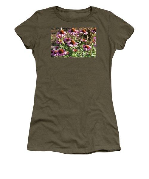 Women's T-Shirt (Junior Cut) featuring the photograph Echinacea by Cynthia Powell