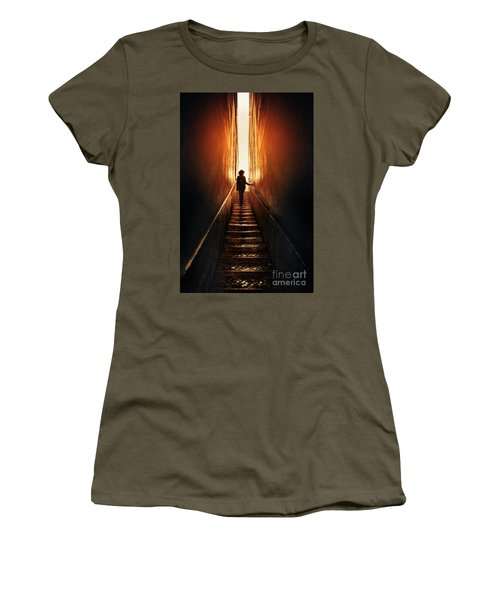 Echoes In The Dark Women's T-Shirt