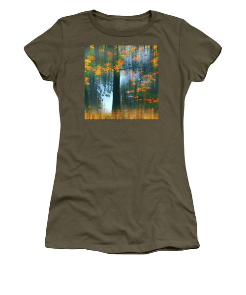 Women's T-Shirt featuring the photograph Echoes Of Autumn by Jessica Jenney