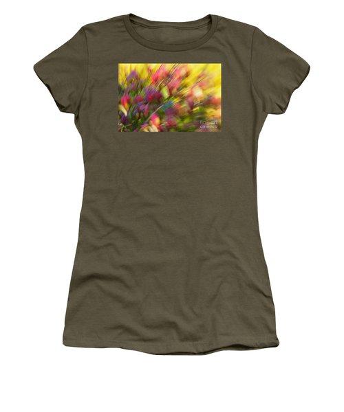 Ecstasy Women's T-Shirt (Junior Cut) by Michelle Twohig