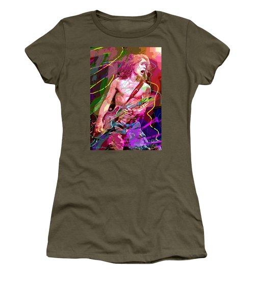 Eddie Van Halen Jump Women's T-Shirt