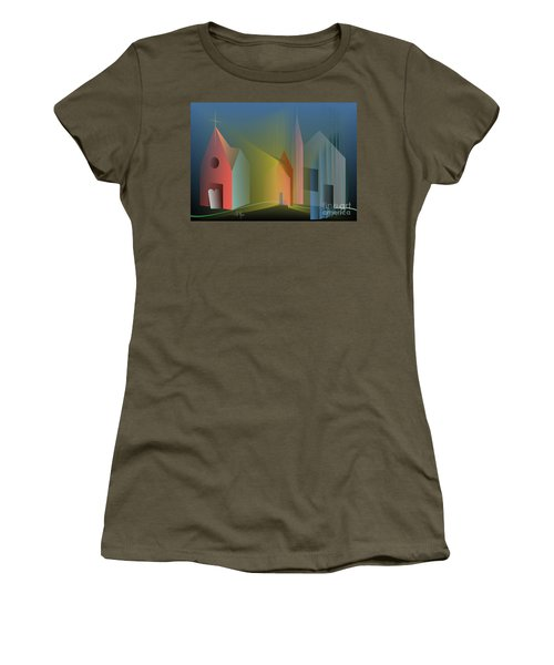Ego Sum Via Veritas Et Vita Women's T-Shirt (Athletic Fit)