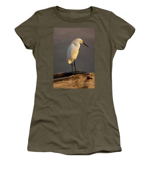 Egret Glow Women's T-Shirt