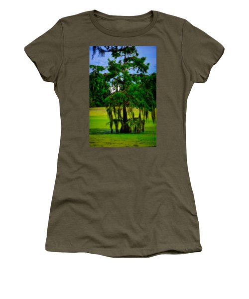 Egret Tree Women's T-Shirt