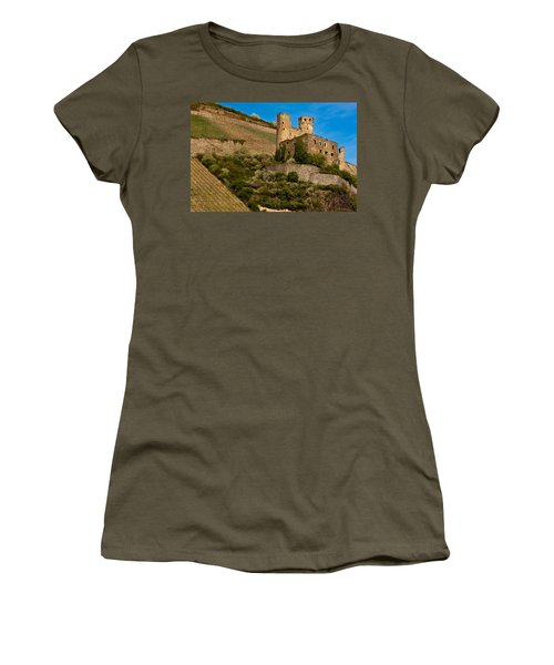 Ehrenfels Castle Ruin Women's T-Shirt (Athletic Fit)