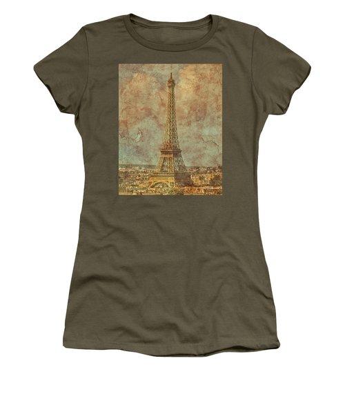 Paris, France - Eiffel Tower Women's T-Shirt