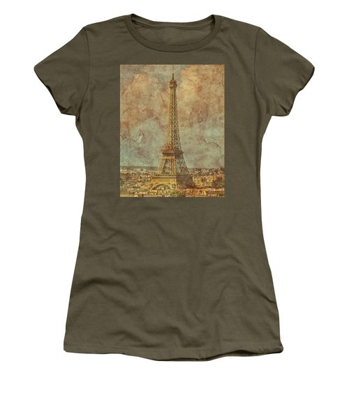 Paris, France - Eiffel Tower Women's T-Shirt