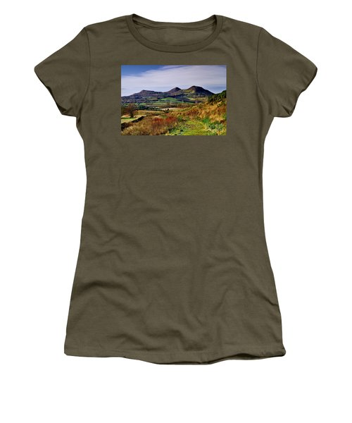 Eildon Hills Borders Scotland Women's T-Shirt