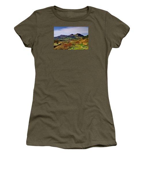Eildon Hills Borders Scotland Women's T-Shirt