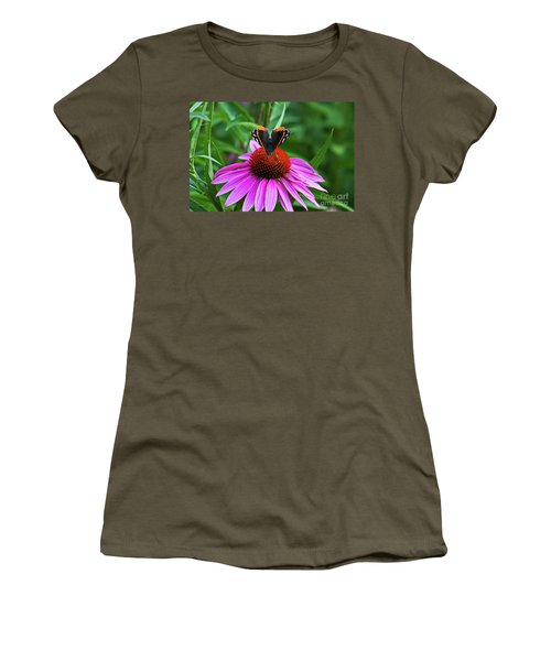 Elegant Butterfly Women's T-Shirt (Athletic Fit)