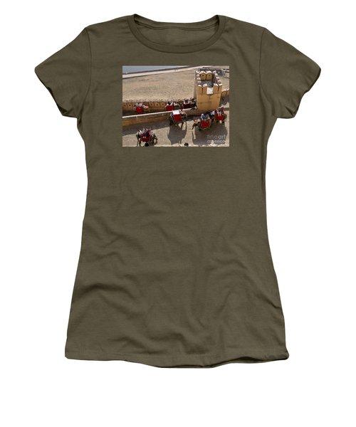 Elephant Ride 3 Women's T-Shirt