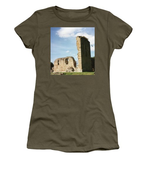 Women's T-Shirt featuring the photograph Elgin Cathedral by JLowPhotos