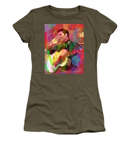 Elvis Rockabilly  Women's T-Shirt