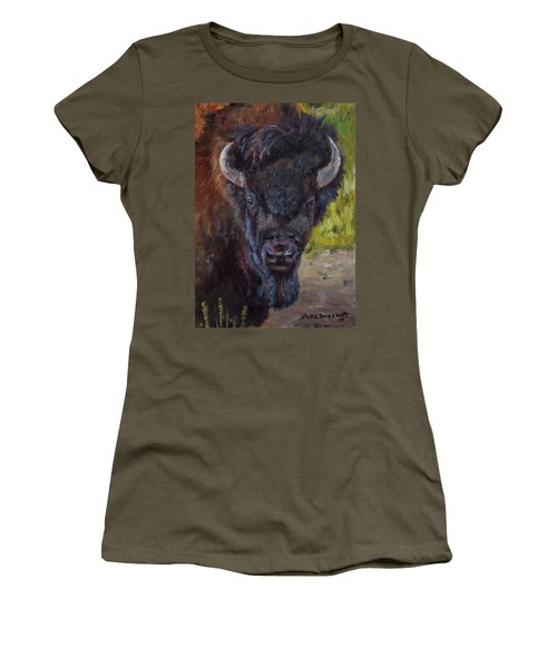 Elvis The Bison Women's T-Shirt