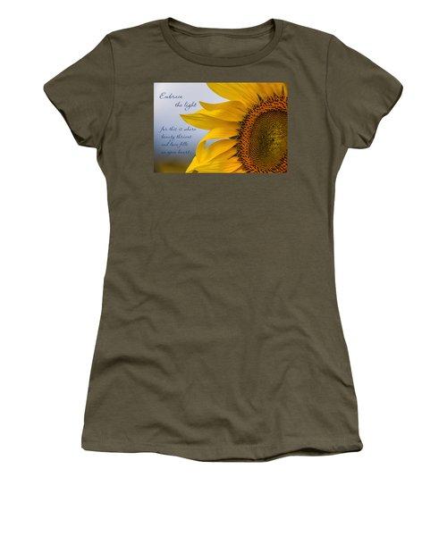 Embrace The Light Women's T-Shirt