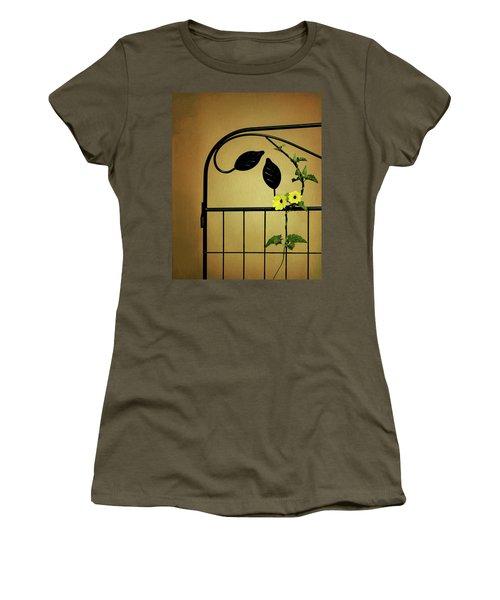 Women's T-Shirt (Junior Cut) featuring the photograph Embrace by Tom Mc Nemar