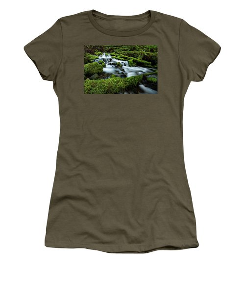 Emerald Flow Women's T-Shirt