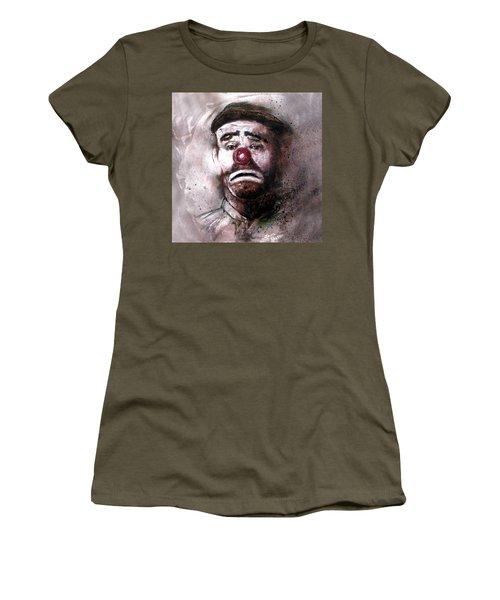 Emmit Kelly Clown Women's T-Shirt