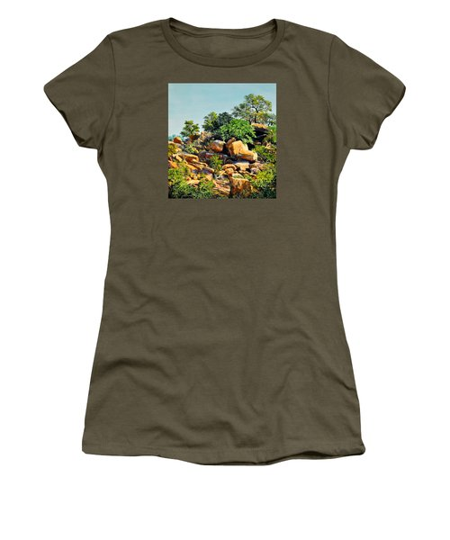 Enchanted Rock Women's T-Shirt (Athletic Fit)