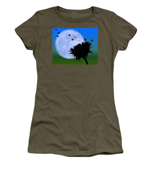 Endings . . . . . Women's T-Shirt (Athletic Fit)