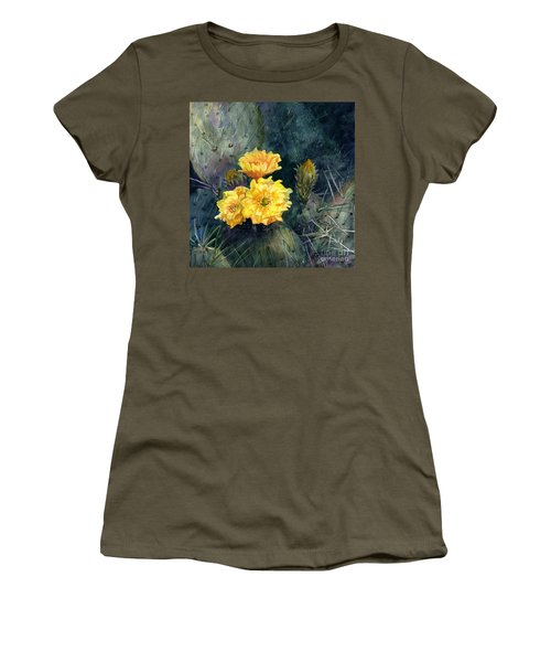 Engelmann Prickly Pear Cactus Women's T-Shirt
