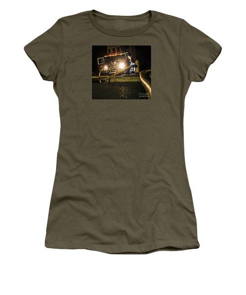 Engine 4 Women's T-Shirt (Junior Cut) by Jim Lepard
